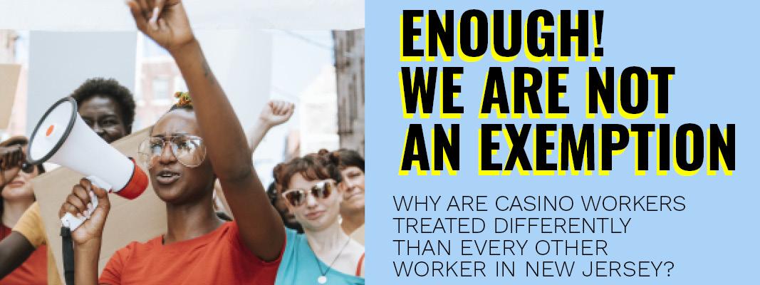 Atlantic City Casino Workers Say Enough