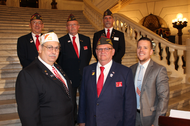 Photo of members of the Pennsylvania Veterans of Foreign Wars