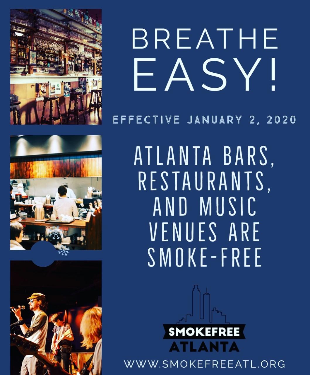 Atlanta is smokefree