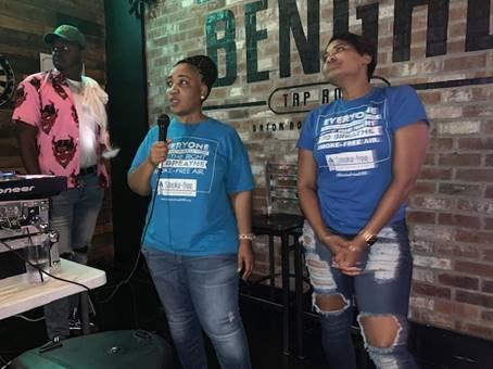 Baton Rouge one year smokefree celebration