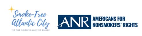 Smokefree Atlantic City and ANR logos