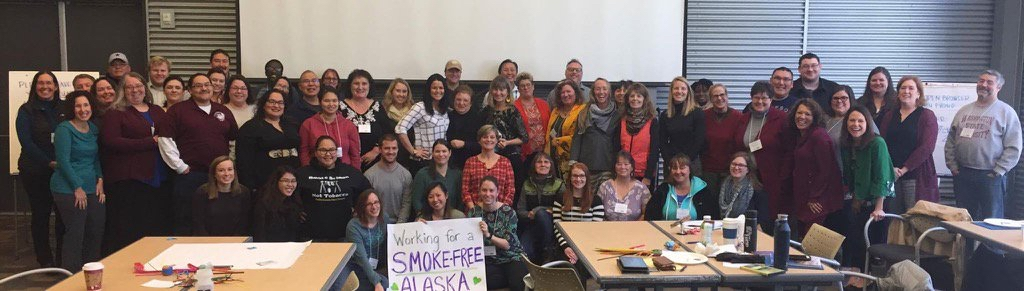Group of smokefree advocates